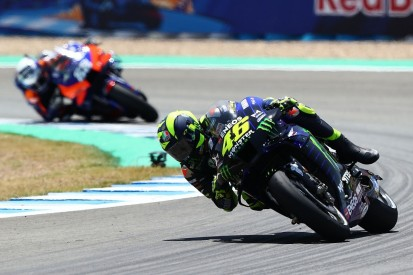 """Rossi unable to """"make tyres work properly"""" in Jerez MotoGP race"""
