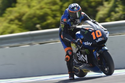 Moto2 Spain: Rossi protege Marini eases to victory at Jerez