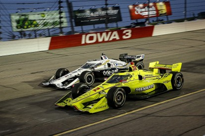 "Pagenaud credits ""never give up"" attitude for Iowa victory"