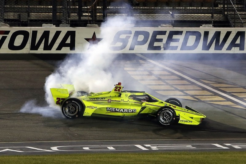 IndyCar Iowa: Pagenaud fights back from last to win from Dixon