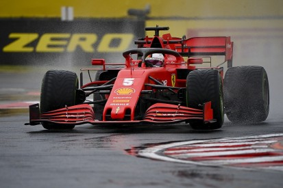 F1 Hungarian GP: Ferrari's Vettel quickest from Bottas in wet FP2