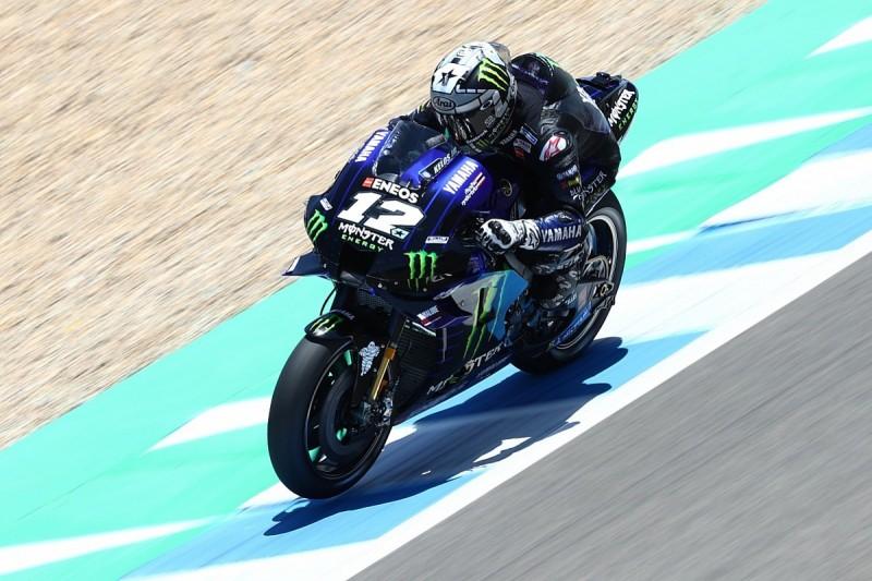 Yamaha's Vinales tops red-flagged second Jerez MotoGP test