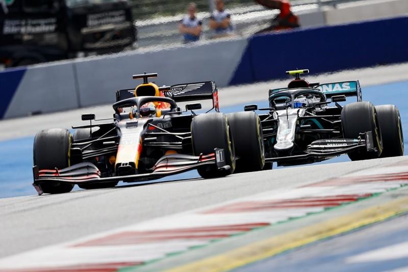 Bottas: Verstappen pass easier than I expected in F1 Styrian GP