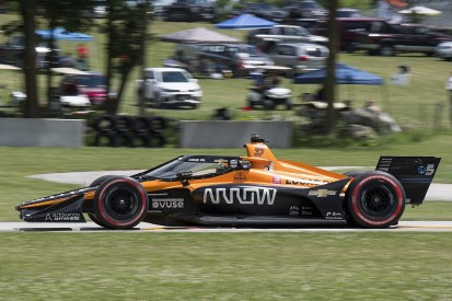 "O'Ward ""ecstatic"" but ""disappointed"" after falling short of maiden IndyCar win"