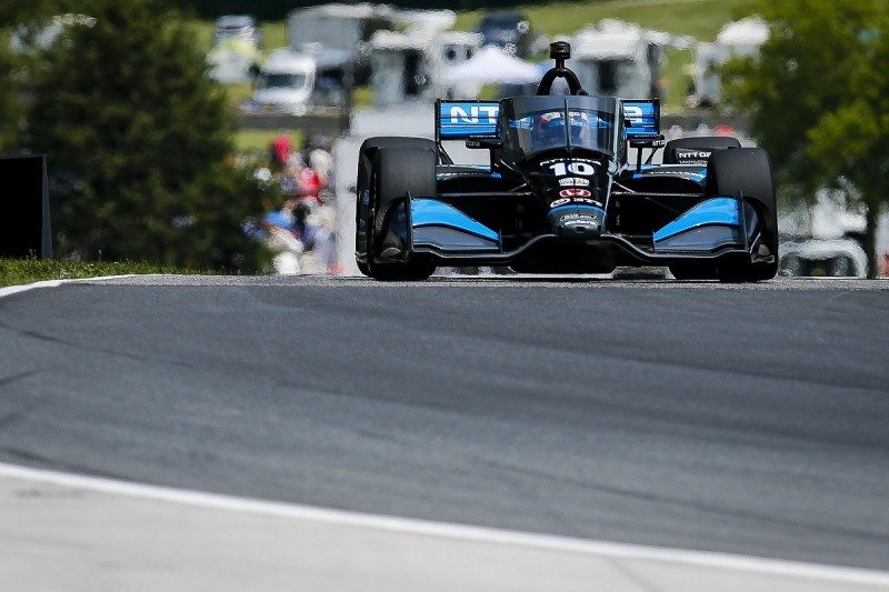 Rosenqvist beats O'Ward to snatch first IndyCar win at Road America