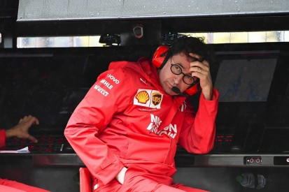 """Binotto: Styrian GP qualifying """"not good enough for a team by the name of Ferrari"""""""