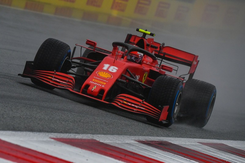 Leclerc to start F1 Styrian GP 14th after receiving grid penalty for impeding Kvyat