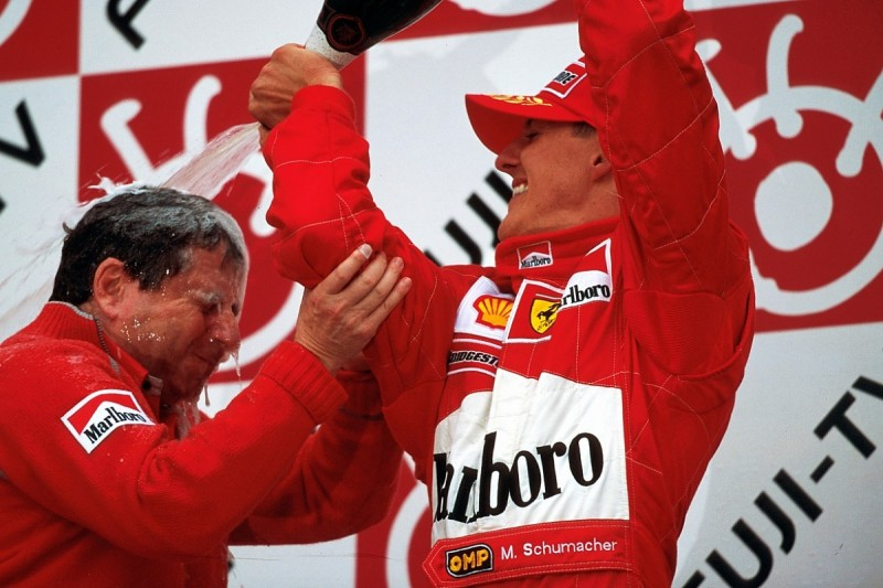 The Day Schumacher Ended Ferrari S 21 Year Wait For F1 Glory