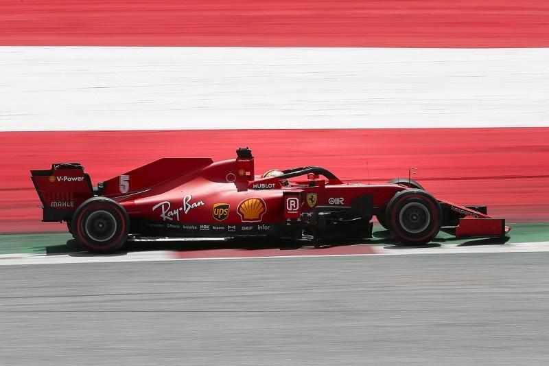 Vettel: Ferrari F1 car was unrecognisable in Austrian Grand Prix