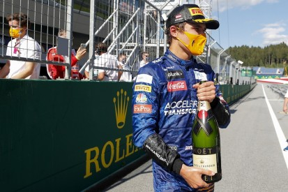 """Norris thought he'd """"fudged"""" run to maiden F1 podium in Austrian GP"""