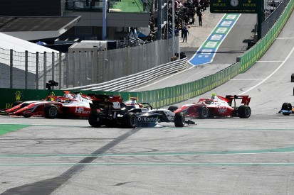 """Piastri """"incredibly lucky"""" to survive Austria F3 Turn 1 clash unscathed"""