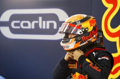 Red Bull junior Tsunoda goes quickest in debut Austria F2 practice