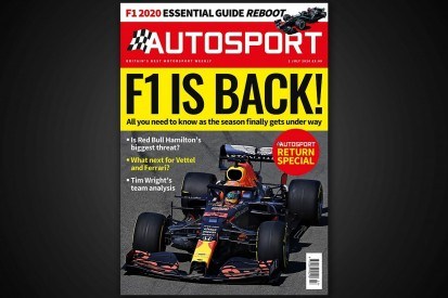 Autosport magazine returns to the news stands