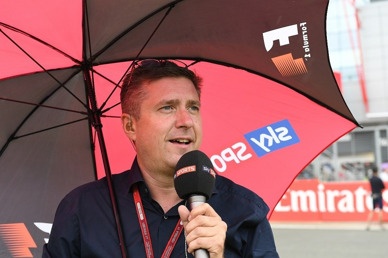 My job in F1: Sky F1 lead commentator David Croft