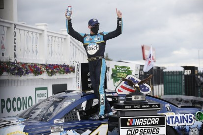Pocono NASCAR: Cup Series leader Harvick ends Pocono drought