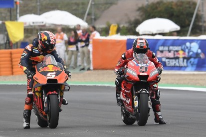 Petrucci and KTM MotoGP team have positive first meeting