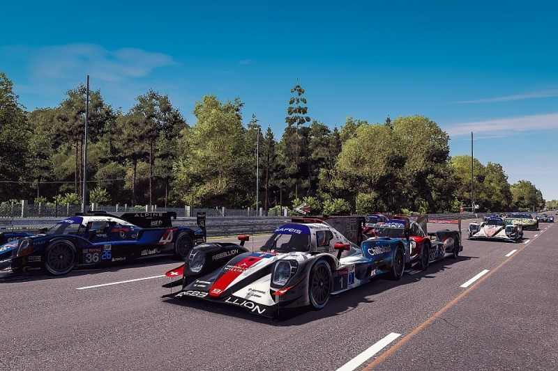 Rebellion-Williams won Virtual Le Mans with 'extreme' fuel saving