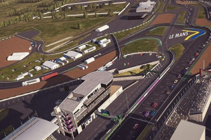 Le Mans Virtual resumes after red flag stoppage, Alonso/Barrichello car allowed back in