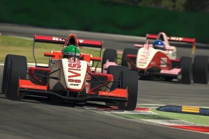 Visser, Kimilainen share spoils in W Series Esports opener