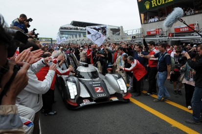 When Audi's last car standing pipped Peugeot in a Le Mans classic