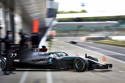 Mercedes returns to F1 track action at Silverstone test with '18 car