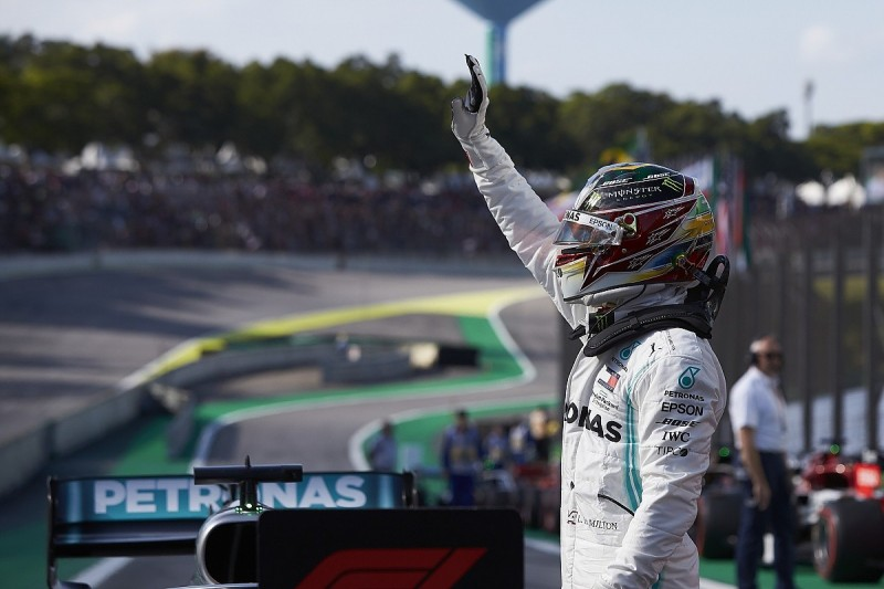 Hamilton is using his power to drive change in and out of F1