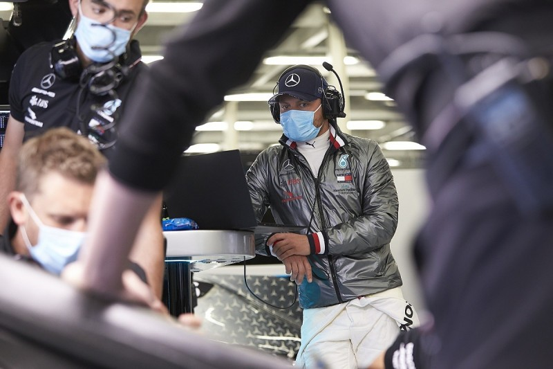 """Bottas: Mercedes """"learned a lot"""" on new F1 COVID-19 protocols in test"""
