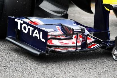 Banned: Flexible wings in Formula 1
