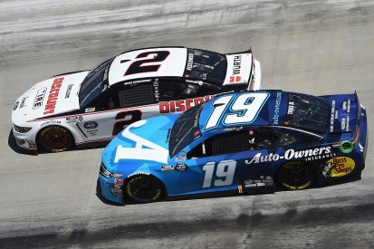 Bristol NASCAR: Keselowski wins after late Elliott and Logano clash