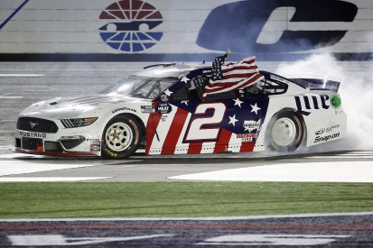 Charlotte NASCAR: Keselowski wins 600-mile race from last, Johnson disqualified