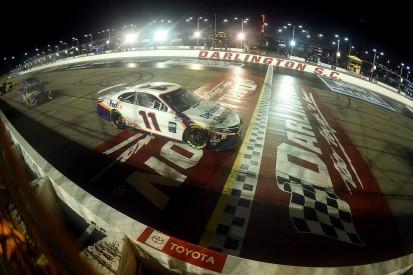 NASCAR Darlington 500: Hamlin wins rain-shortened midweek race