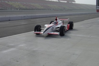 Have a go hero: When a bruised McNish took on an IndyCar oval test