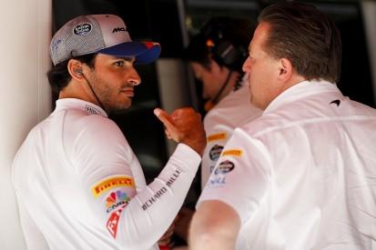 "F1 News: No ""bad blood"" from Sainz departure, says McLaren CEO Brown"