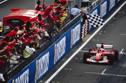 Silverstone F1 '03: The high point of Barrichello's Ferrari career