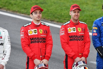 Vettel: Ferrari form against F1 rivals matters more than Leclerc battle