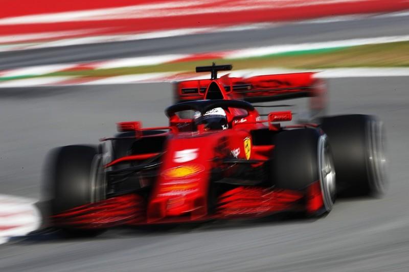 Vettel: Current high downforce F1 cars too heavy