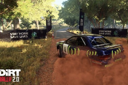 """Codemasters adds """"Stay Home Save Lives"""" messaging into rally game"""