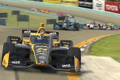 Karam sees off Rosenqvist to win IndyCar iRacing opener at Watkins Glen