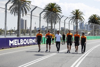 Quarantined McLaren F1 personnel have returned home from Australia