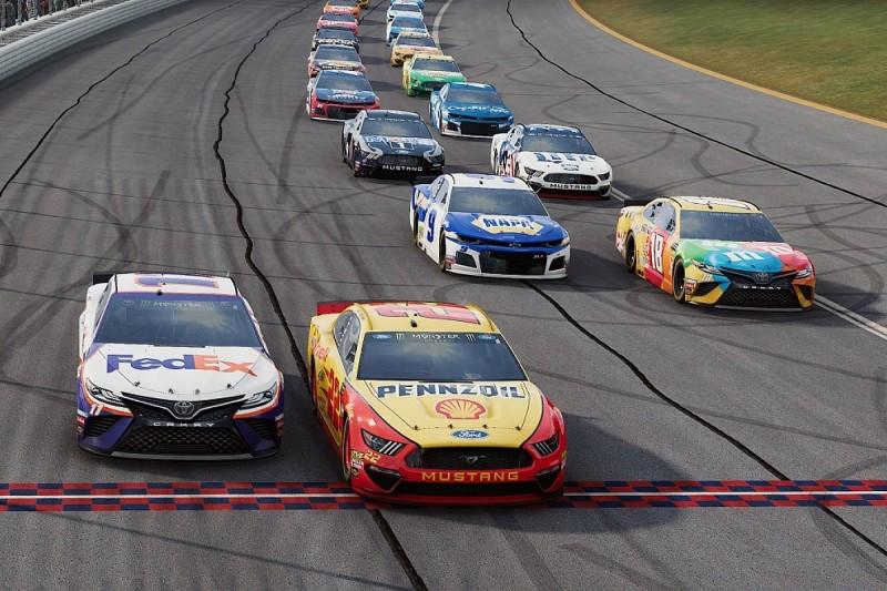 Shock winners in $10,000 NASCAR Heat All-Star race