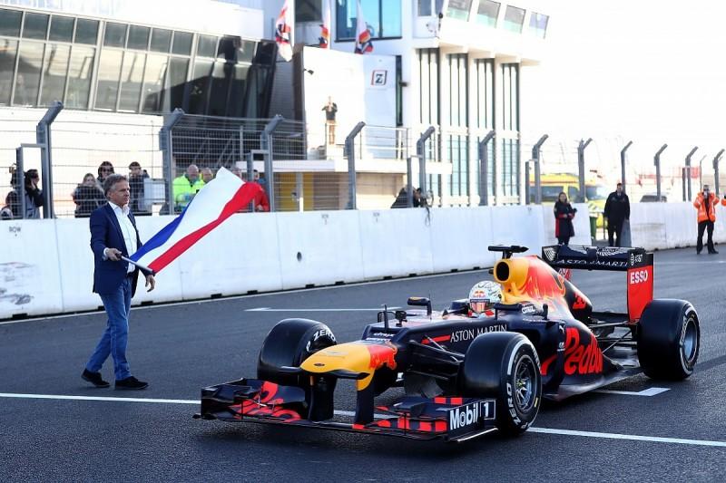 Verstappen glad Zandvoort kept old-school feel for F1 return