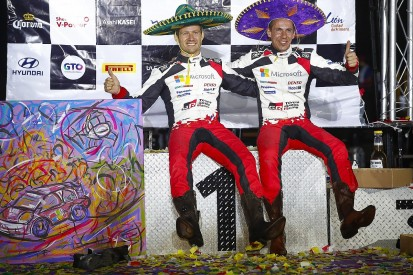 WRC Rally Mexico: Ogier takes maiden Toyota win in truncated rally