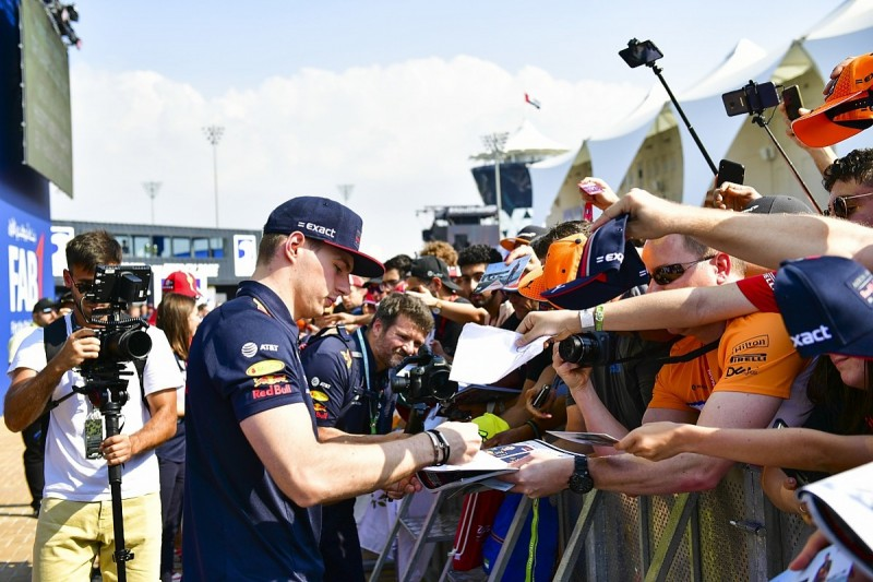 F1 driver autograph sessions canned over coronavirus fears