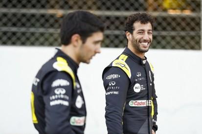 Ocon: Relationship with F1 team-mate Ricciardo better than Perez
