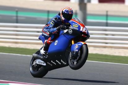 Roberts beats Losail lap record to lead Qatar Moto2 practice