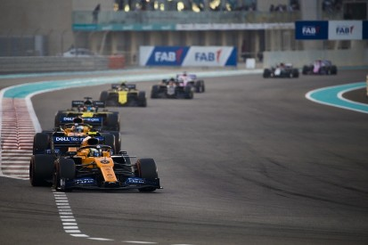 Brown: Half the F1 grid will run at cost cap level in 2021