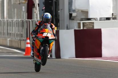 KTM Ajo's Fernandez heads Moto3 Friday practice at Qatar