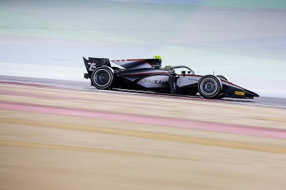 Ghiotto tops Bahrain F2 test for Hitech