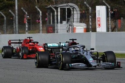 """Mercedes looks """"more at ease"""" with new F1 car than Ferrari - Vettel"""