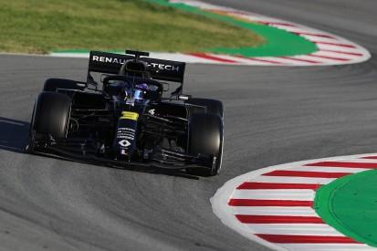 Ricciardo claims Renault's pre-season testing pace was positive
